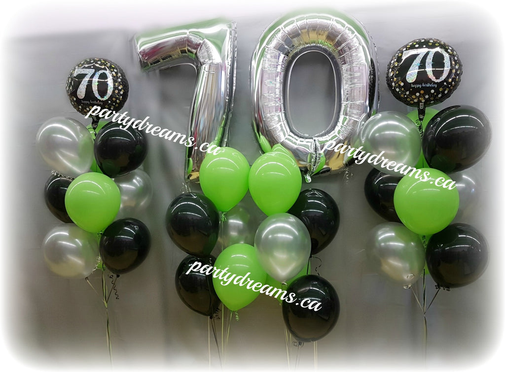 Age Number Birthday Balloons Set #AB5