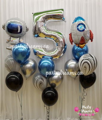Out of this World Birthday Balloon Bouquet Set #86