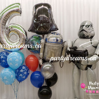 Star Wars Birthday Surprise Balloon Bouquet Set #63