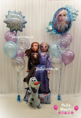 Airwalker Disney Frozen Birthday Balloon Bouquet Set #42