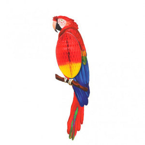 Parrot Honeycomb Decoration