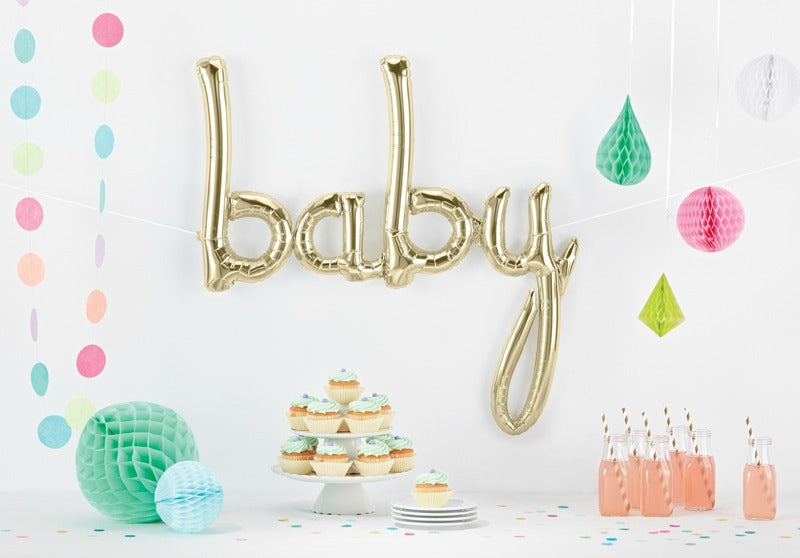"Air-Filled ""Baby"" Foil Balloon 31 IN x 34 IN"