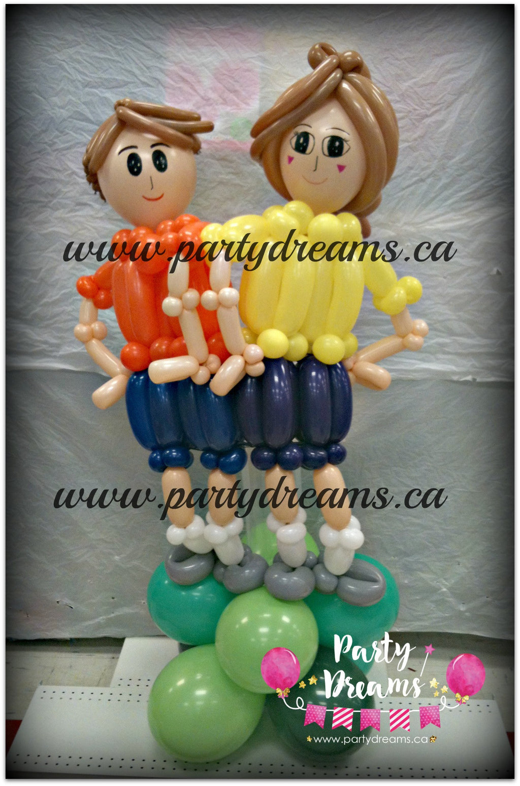 Balloon Sculpture - Sports Day Fun (Medium) #BP17
