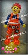 Character Balloon Sculpture (Large) #SB162836