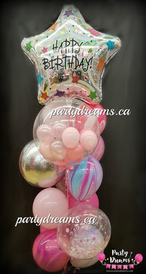 Superstar Birthday Balloon Bouquet #BO01