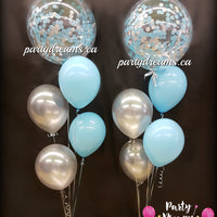 Confetti Bubble Balloon Bouquets Set #CH22