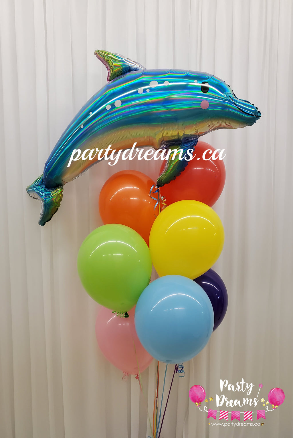 Dolphin Birthday Balloon Bouquet #85