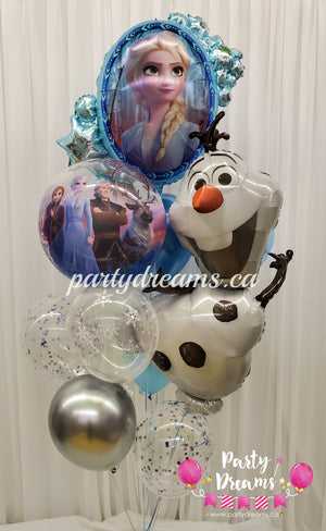 Frozen Birthday Balloon Bouquet #31