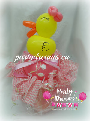 Balloon Animal - Pinkie Duckie (Small) #AM13