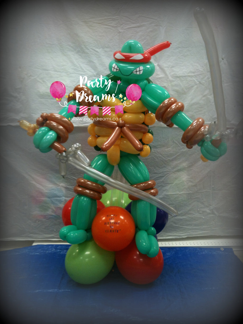 Character Balloon Sculpture (Large) #SB162805