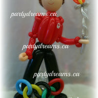Balloon Sculpture - Birthday Sporty Boy (Medium) #BP42