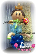 Balloon Sculpture - 1st Birthday Prince (Jumbo) #BP41