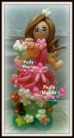 Balloon Sculpture - Dancing in the Garden Girl (Medium) #BP6