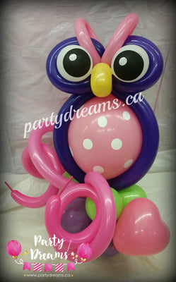 Balloon Animal - Owl (Small) #AM2