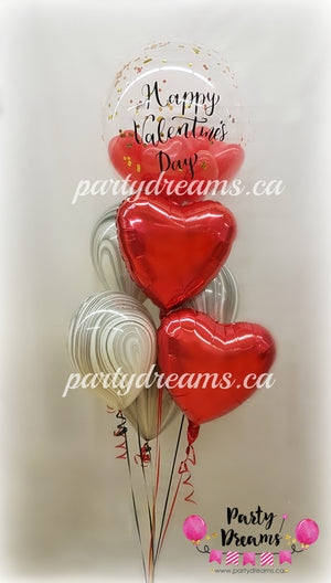 """Had To Be You"" Valentine's Day Balloon Bouquet #VT11"