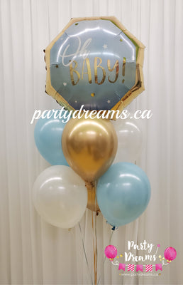 Oh Baby Boy Balloon Bouquet #22