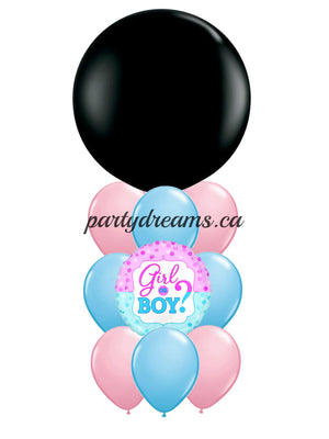 Gender Reveal Balloon Bouquet #BB12