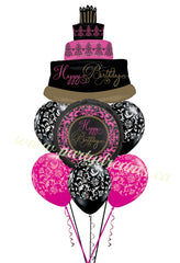 Birthday Balloons Bouquet #BDH1