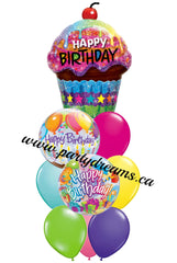 Birthday Balloons Bouquet #BDH7