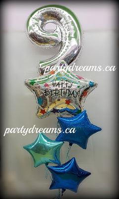 Jumbo Letters Numbers Foil Balloons Surrey Vancouver BC