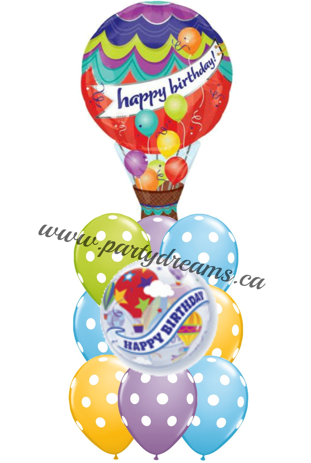 Birthday Balloons Bouquet BDH11
