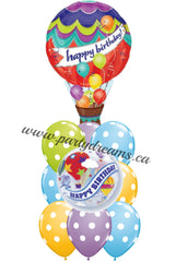 Birthday Balloons Bouquet #BDH11