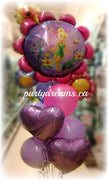 Tinker Bell Birthday Balloons Bouquet #KB21