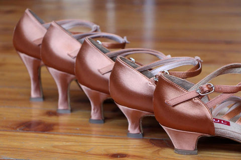 Various tango heel sizes