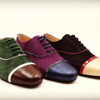 Classic men's tango shoes with modern flair