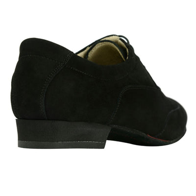 100 Camoscio Nero by Bandolera (now Tangolera) - Imported from Italy, Argentina and beyond: best tango shoes and tango apparel. Beautiful, comfortable, premium quality!