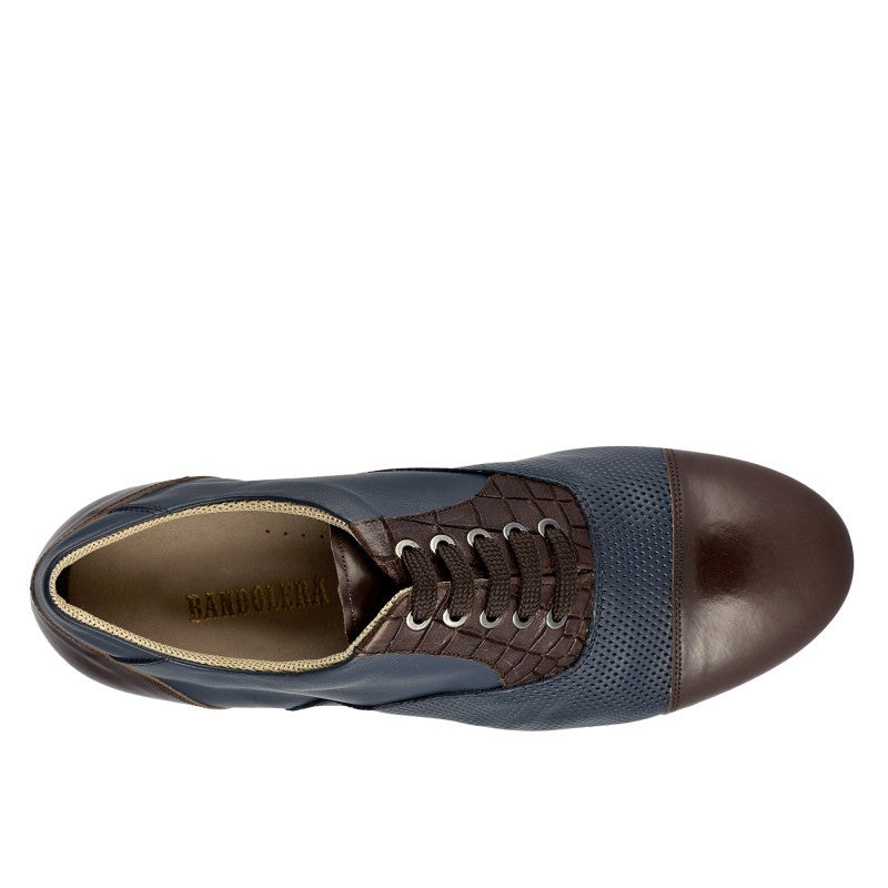 106 Oxford Blu Brown by Bandolera (now Tangolera) - Imported from Italy, Argentina and beyond: best tango shoes and tango apparel. Beautiful, comfortable, premium quality!
