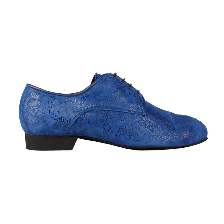 110 - Blu Stampato | Axis Tango - Best Tango Shoes