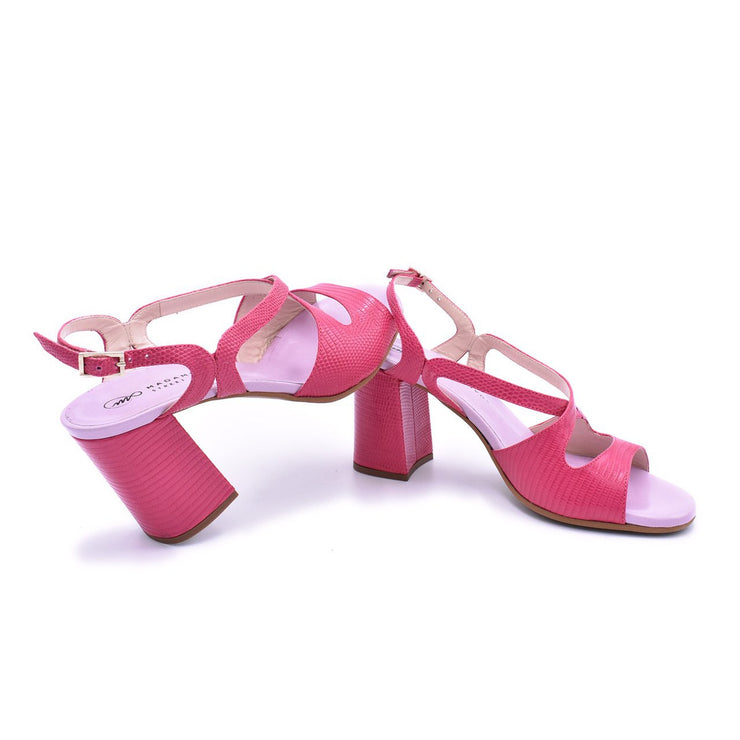 Gioia Street - Magenta Leather 75-Madame Pivot- Axis Tango - Best Tango Shoes