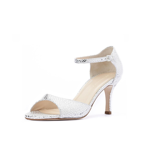 Gemma - Silver-Madame Pivot- Axis Tango - Best Tango Shoes