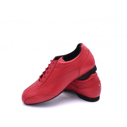 Sneaker - Red Leather | Axis Tango - Best Tango Shoes