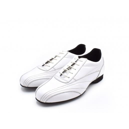 Sneaker - White Leather | Axis Tango - Best Tango Shoes