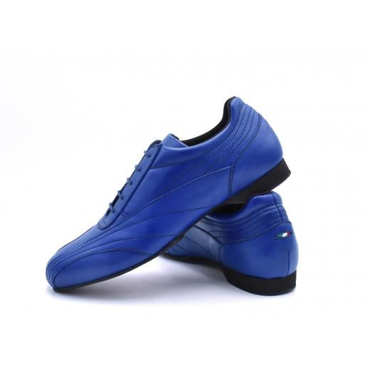 Sneaker - Blue Leather | Axis Tango - Best Tango Shoes