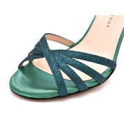 Amanda - Deep Green Glitter Lurex 70, 80, 85, 105-Madame Pivot- Axis Tango - Best Tango Shoes