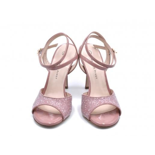 Charlene DUS - Rose Glitter (7cm, 8cm, 8.5cm) | Axis Tango - Best Tango Shoes