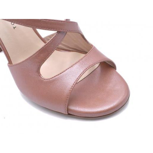 Gioia - Caramel Leather (7cm, 8cm, 8.5cm) | Axis Tango - Best Tango Shoes