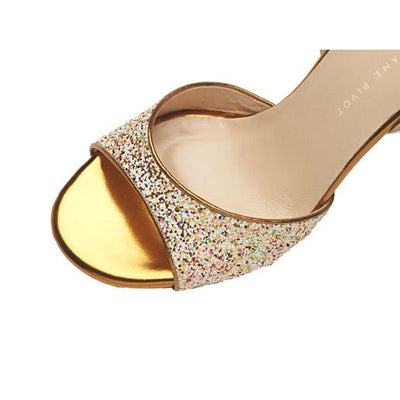 Chanel - Multicolour Glitter (7cm, 8cm, 8.5cm) by Madame Pivot - Imported from Italy, Argentina and beyond: best tango shoes and tango apparel. Beautiful, comfortable, premium quality!