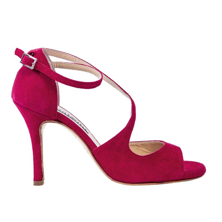 Venus - Cerise-Alagalomi- Axis Tango - Best Tango Shoes