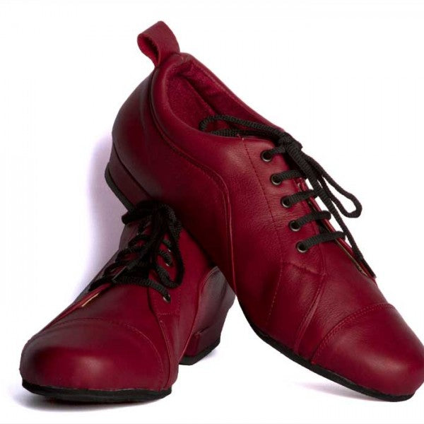 Arrabal - Bordeaux Leather 20-DNI- Axis Tango - Best Tango Shoes
