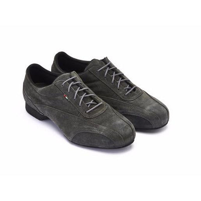 Sneaker - Anthracite Suede by Monsieur Pivot - Axis Tango imported tango shoes and tango apparel for Argentine Tango; beautiful, comfortable, best quality