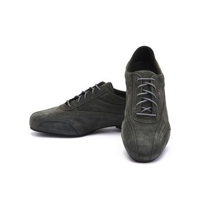Sneaker - Anthracite Suede by Monsieur Pivot - Imported from Italy, Argentina and beyond: best tango shoes and tango apparel. Beautiful, comfortable, premium quality!