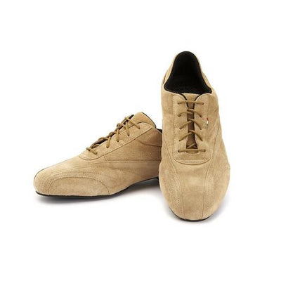 Sneaker - Beige Suede by Monsieur Pivot - Imported from Italy, Argentina and beyond: best tango shoes and tango apparel. Beautiful, comfortable, premium quality!