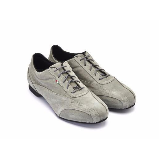 Sneaker - Grey Suede | Axis Tango - Best Tango Shoes