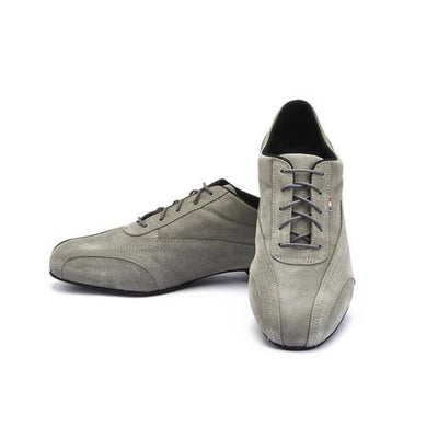 Sneaker - Grey Suede by Monsieur Pivot - Imported from Italy, Argentina and beyond: best tango shoes and tango apparel. Beautiful, comfortable, premium quality!