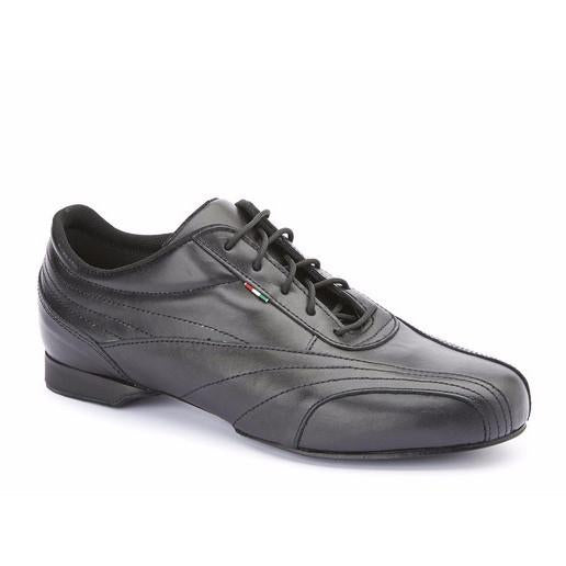 Sneaker - Black Leather - Axis Tango | Best Tango Shoes