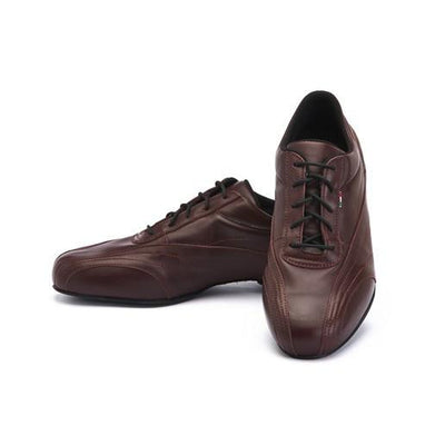 Sneaker - Wine Soft Leather by Monsieur Pivot - Imported from Italy, Argentina and beyond: best tango shoes and tango apparel. Beautiful, comfortable, premium quality!